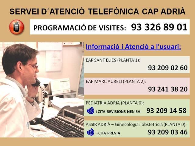Atenció telefònica blog